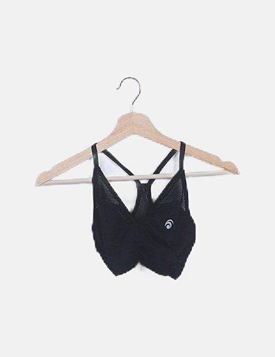Conjunto top y legging negro