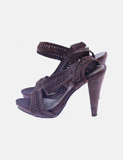 Suiteblanco heeled sandals