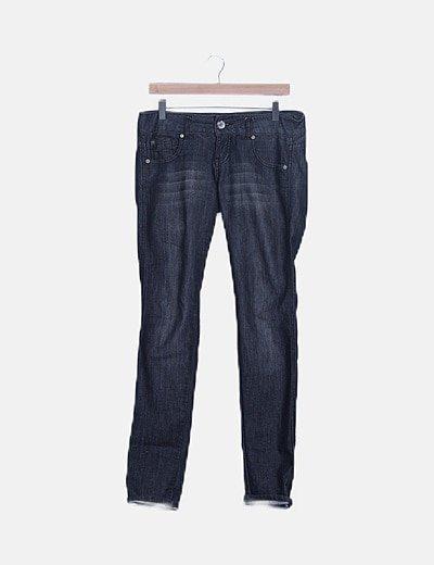 Pantaloni dritti Suiteblanco