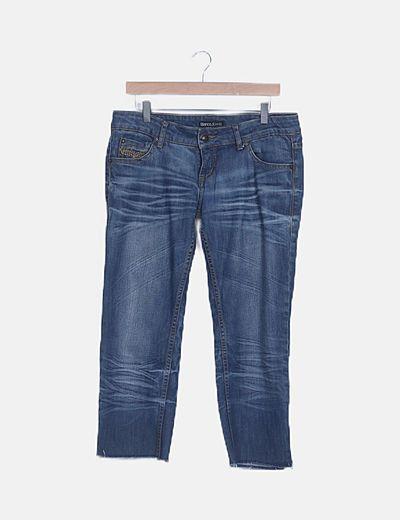 Jeans denim piratas