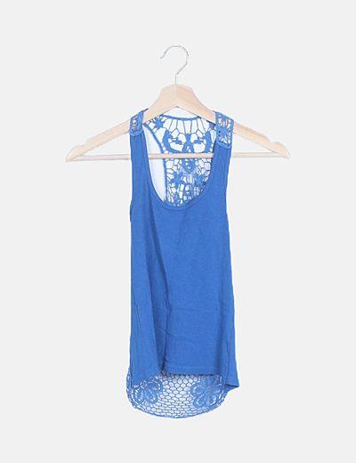 Camiseta nadador azul