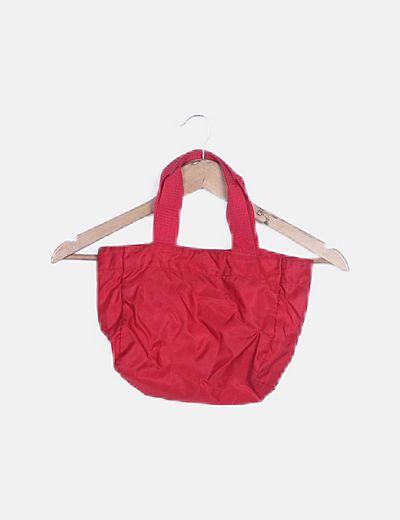Bolso mini nylon rojo