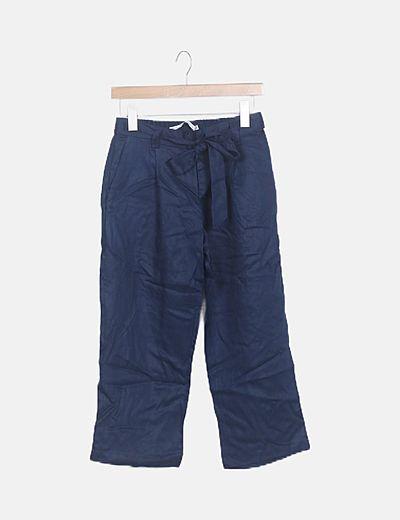 Pantalón azul marino baggy