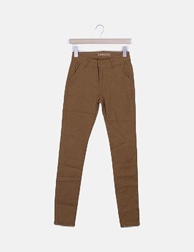 Jeans denim marrón