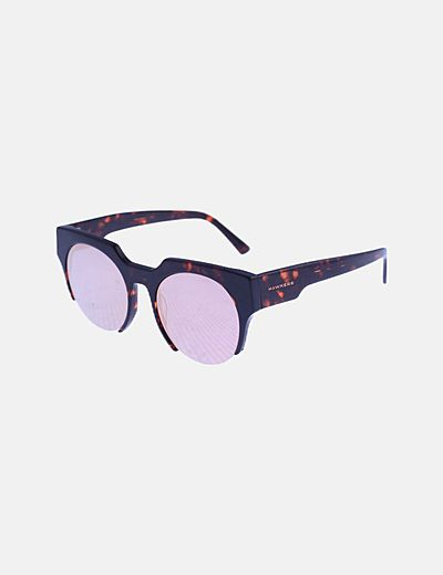 Gafas de sol carey lentes rosas