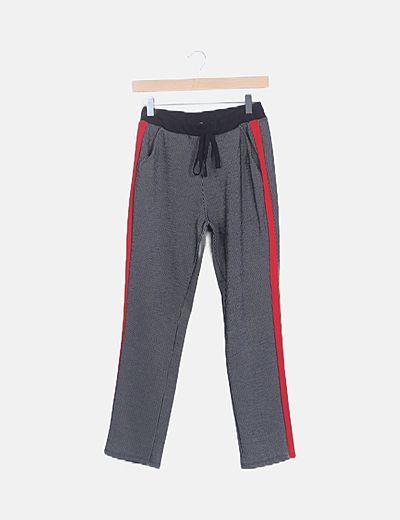 Pantalón jogger rayas bandas laterales