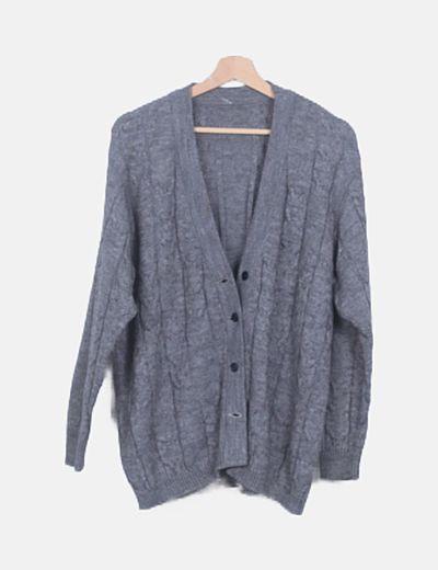 Jersey gris de ochos