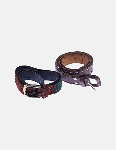 Set dos cinturones