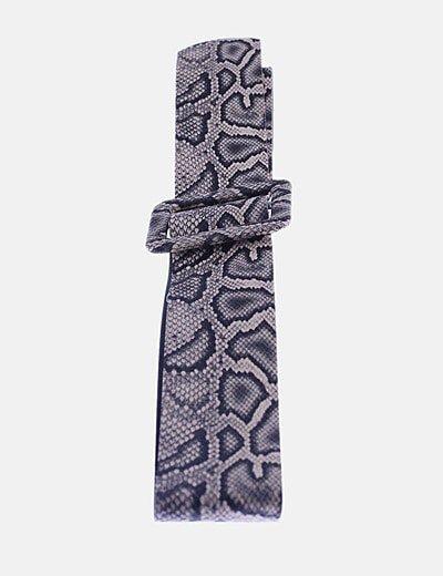 Cinturón animal print