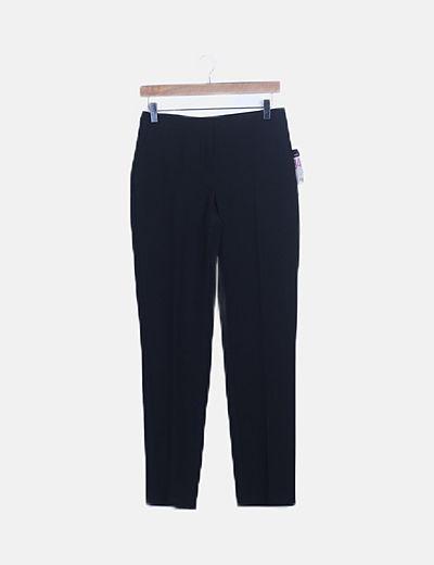 Pantalón de pinzas negro