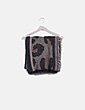 Bufanda marrón animal print Pull&Bear