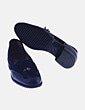 Zapato negro combinado con borlas NoName