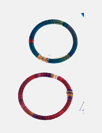 Conjunto pulseras y pendientes