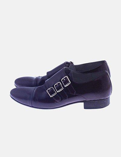 Zapato burdeos charol