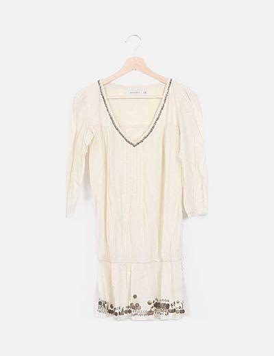 Vestido mini Bershka