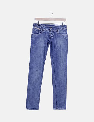 Pantalón denim pitillo