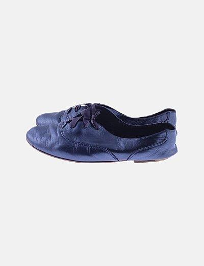 Zapatos blucher grises