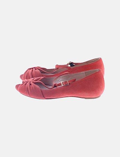 Bailarina rosa peep toes