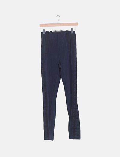 Pantalón bandage azul marino