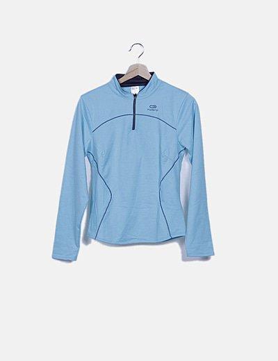 Jersey deportivo azul turquesa