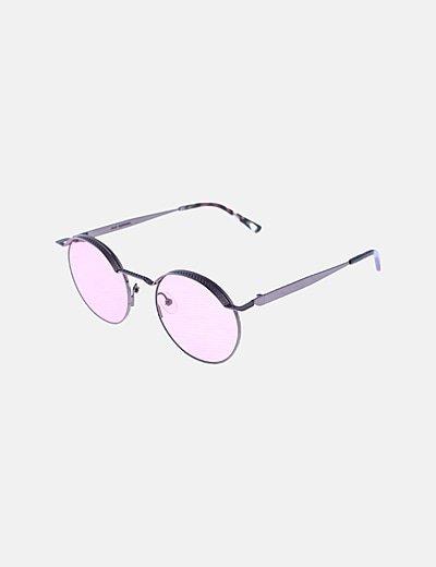 Gafas de sol cristales rosa