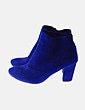 Botín azul con elástico Best Shoes