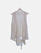 Chaleco beige crochet lace up NoName