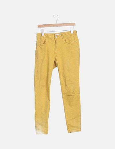 Jeans mostaza