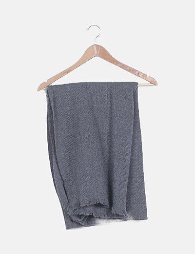 Bufanda gris oscura