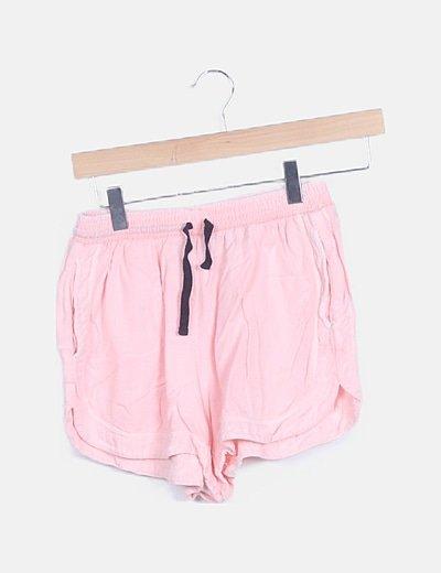 Short rosa deportivo