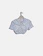 Conjunto camiseta y falda blanca crochet Yoins