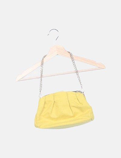 Bolso mini vintage amarillo
