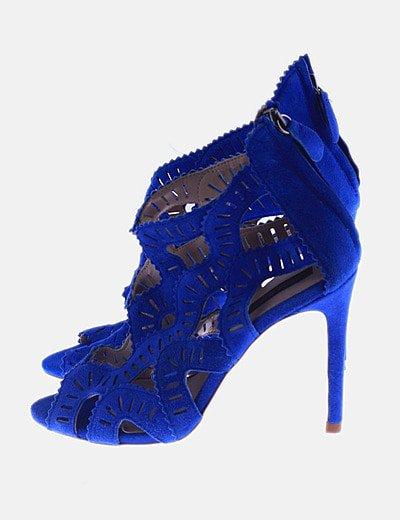 Sandalias caladas azules
