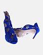 Sandalias caladas azules Zara