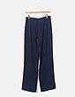 Pantalón de traje azul marino Promod