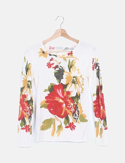 Jersey tricot floral