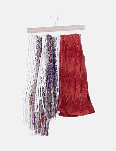 Conjunto bufandas