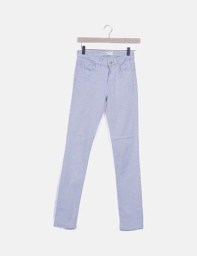 Jeans grises pitillos