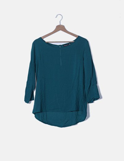 Blusa verde lisa