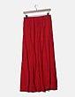 Falda roja con bolsillos NoName