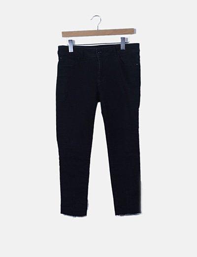 Jeans denim negro pitillo