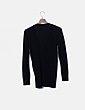 Cárdigan tricot negro abotonado Primark