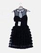 Vestido negro de tul Little Mistress