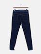 Jeans denim detalle raya Zara