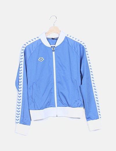 Chaqueta sport azul