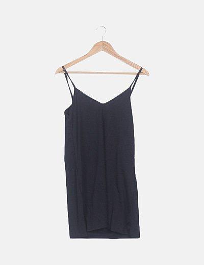 Vestido tirantes negro