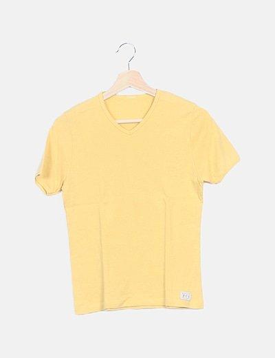Camiseta básica amarilla
