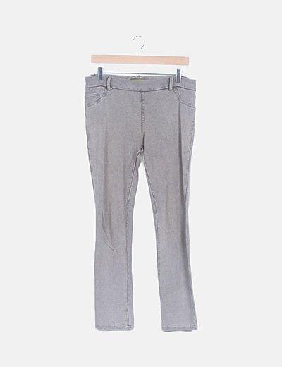 Leggings gris jaspeado