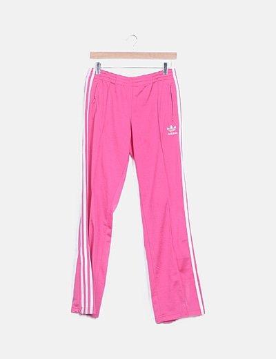 Pantalón deportivo rosa
