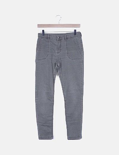 Jeans skinny verde